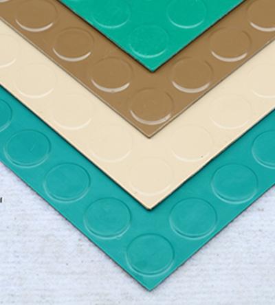圆浮点橡胶地板 GF0601A