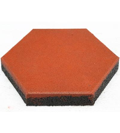 GT0300六边形橡胶地砖
