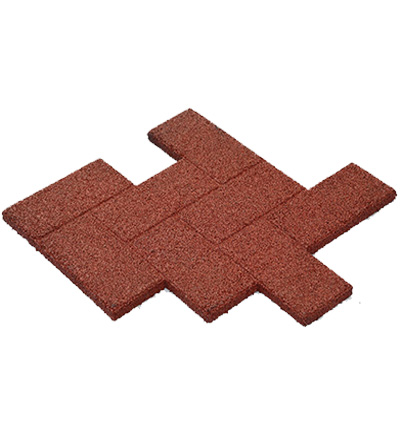 GT0303长方形形橡胶地砖