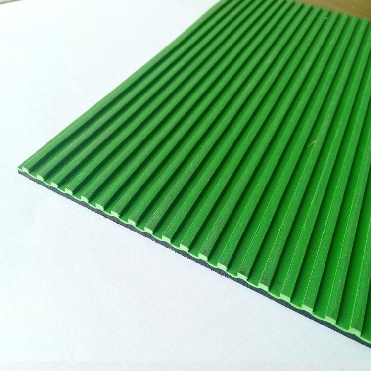 GS0502绿色条纹橡胶板